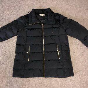Michael Kors Black Long Puffer Coat 2X